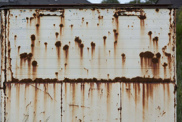rust mixed rusted paint doors